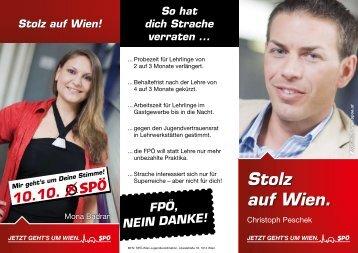 Stolz auf Wien. - SPÖ