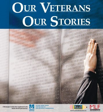 OUR VETERANS OUR STORIES - Boston Herald in Education