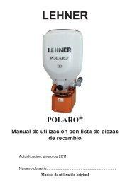 3 Funcionamiento de POLARO - Lehner Agrar GmbH