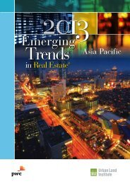 Emerging Trends in Real Estate® Asia Pacific 2013 - Urban Land ...
