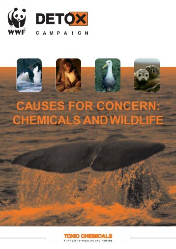 [PDF] Causes for concern: chemicals and wildlife - WWF UK