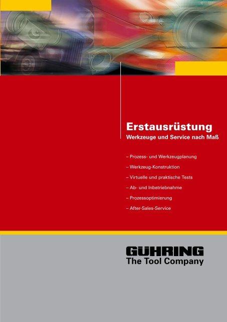 Erstausrüstung - Gühring oHG
