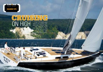 ON HIGH - Hanse Yachts