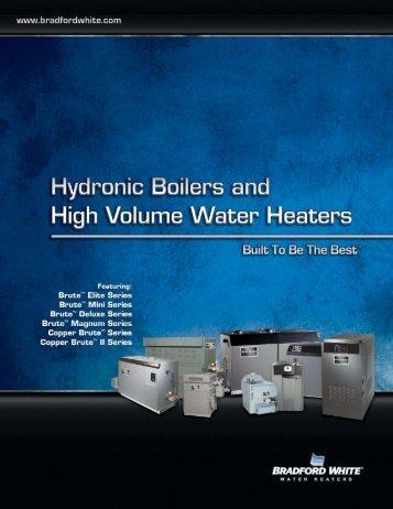 Download the Propane Water Heater Brochure - Bradford White