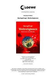 Nachgefragt: Weltreligionen