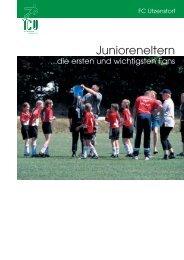 Junioreneltern...die ersten und wichtigsten Fans - FC Utzenstorf