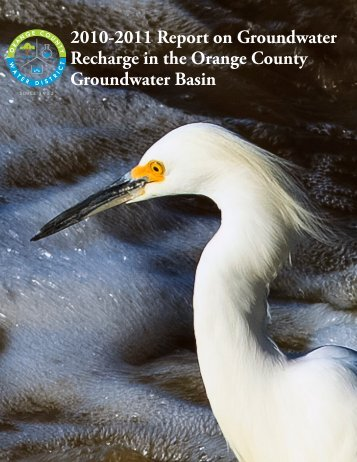 FY10-11 Annual Recharge Report - Orange County Water District