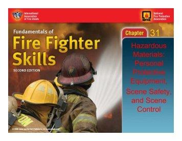 Hazardous Materials: Personal Protective Equipment, Scene Safety ...