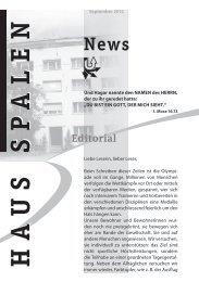 Editorial - Haus Spalen