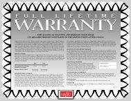 Window Warranty - Home Doors & Windows