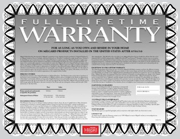 Window Warranty - Home Doors & Windows