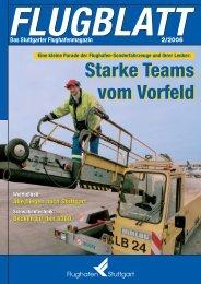 Ausgabe 2/06 - Flughafen Stuttgart