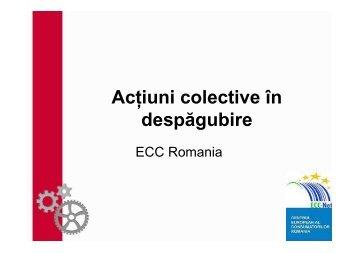 Actiuni colective - concurenta - ALB