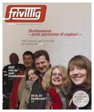 Les magasinet Frivillig, om frivillig aktivitet i Oslo