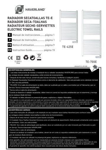 Radiadores Seca-Toallas TE-E - Haverland