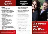 Zusammen. Halt. Für Wien. - SPÖ