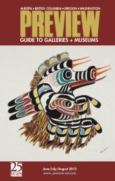 Preview – The Gallery Guide | June – August 2012