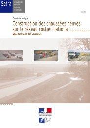 Construction des chaussées neuves sur le réseau ... - Aapaq.org