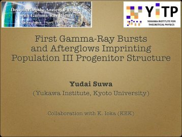 First Gamma-Ray Bursts and Afterglows Imprinting Population III ...