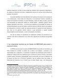 Aportes para la implementación de los ... - IPPDH - Mercosur - Page 4