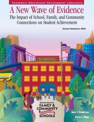 A New Wave of Evidence: The Impact of School, Family, and ... - Edline