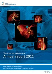 Annual report 2011 - The Intervention Centre