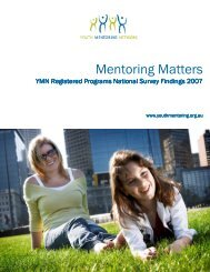 to download a copy (PDF, 586kb) - Australian Youth Mentoring ...