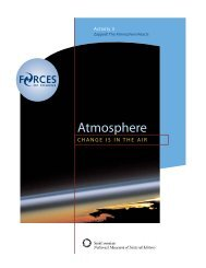 Atmosphere Reacts - Forces of Change - Smithsonian Institution