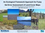 An Ecological Framework Approach for Fuzzy Set Error Assessment ...