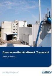 Biomasse-Heizkraftwerk Traunreut - STEAG