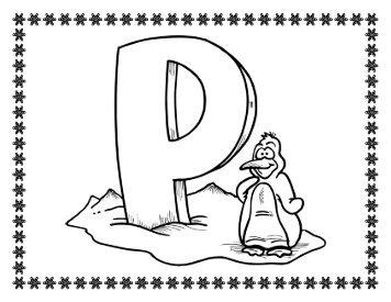 Penguin Color Pages PDF