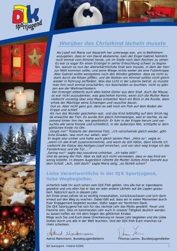 DJK Sportjugend Infobrief 4 | 2009