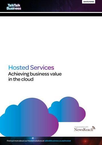 Hosted Services - TalkTalk Business