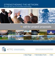 call for project proposals - CASAT