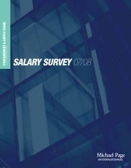 Procurement & Supply Chain Salary Survey - CTHR.hk