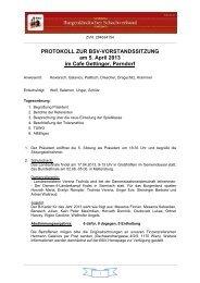 PROTOKOLL ZUR BSV-VORSTANDSSITZUNG am 5. April 2013 im ...