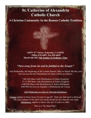 St. Catherine of Alexandria Catholic Church