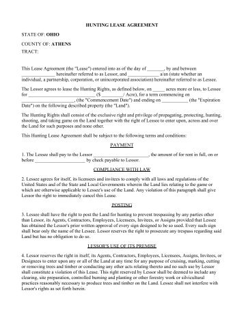 Superior MASTER LEASE AGREEMENT