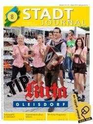 August - Ausgabe - Stadtgemeinde Gleisdorf