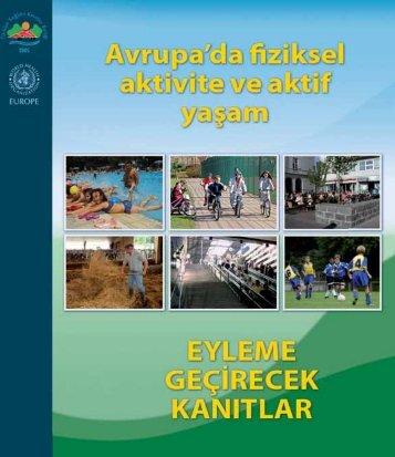 Avrupa'da fiziksel aktivite ve aktif yaşam - Türkiye Sağlıklı Kentler ...