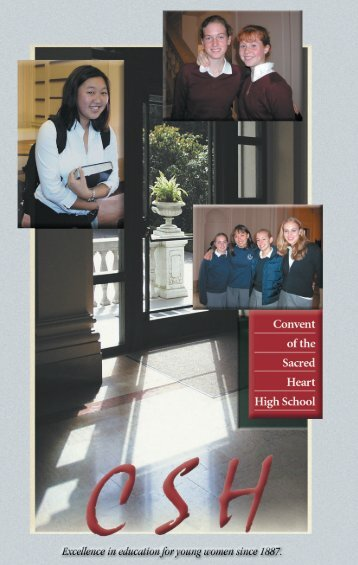 Student Reflections and Testimonials (pdf) - Schools of the Sacred ...
