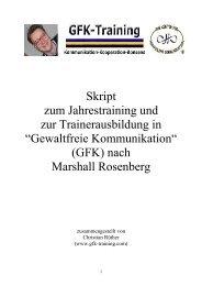 Skript zum Jahrestraining und zur ... - Christian Rüther