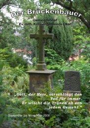Gemeindebrief 2008-04 - Kirchengemeinde Oker
