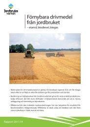 Förnybara drivmedel från jordbruket - bild - Jordbruksverket