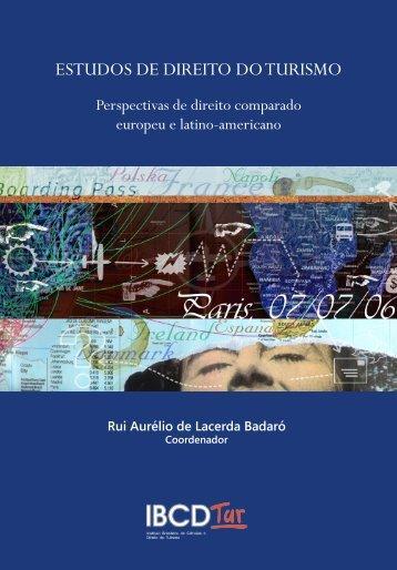 Estudos de Direito do Turismo - Instituto Politécnico de Beja