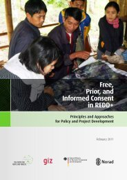 Free, Prior, and Informed Consent in REDD+ - RECOFTC