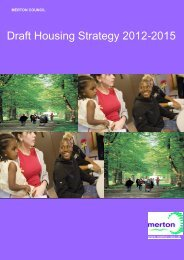 Housing Strategy 2012-2015 Full Council 21.11.12.pdf - Merton ...