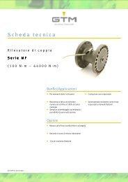 Scheda tecnica Serie MF - GTM GmbH