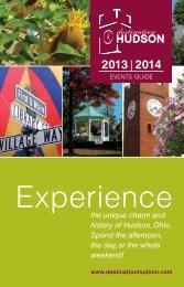 Events Guide 2013 - Destination Hudson
