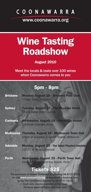 Wine Tasting Roadshow - Leconfield Wines